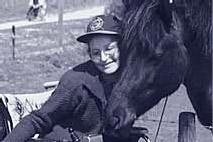 Foto Frau mit Pferd